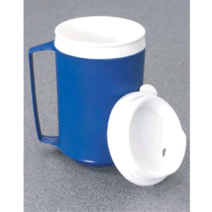 Weighted Cup With Lid 12 oz