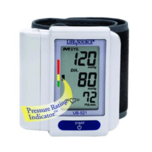 "Digital Blood Pressure Unit ""Wrist"""
