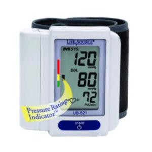 """Digital Blood Pressure Unit """"Wrist"""""""