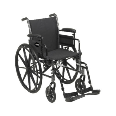 Wheelchair Light Weight Full Arm with Footrest