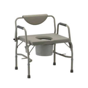 Nova-Commode Bariatric Drop Arm