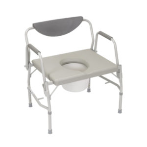 Drive-Commode Bariatric Drop Arm