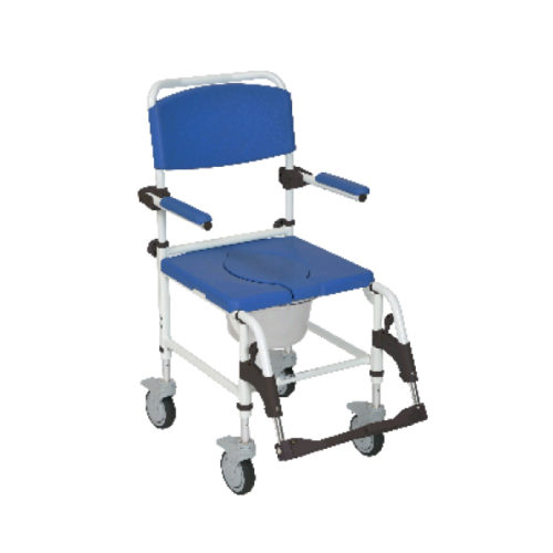 Rolling Shower Chair with Locking Casters