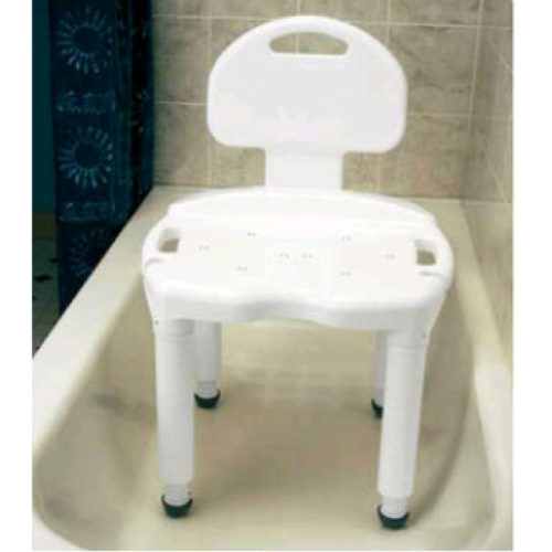 Bath Bench With Back
