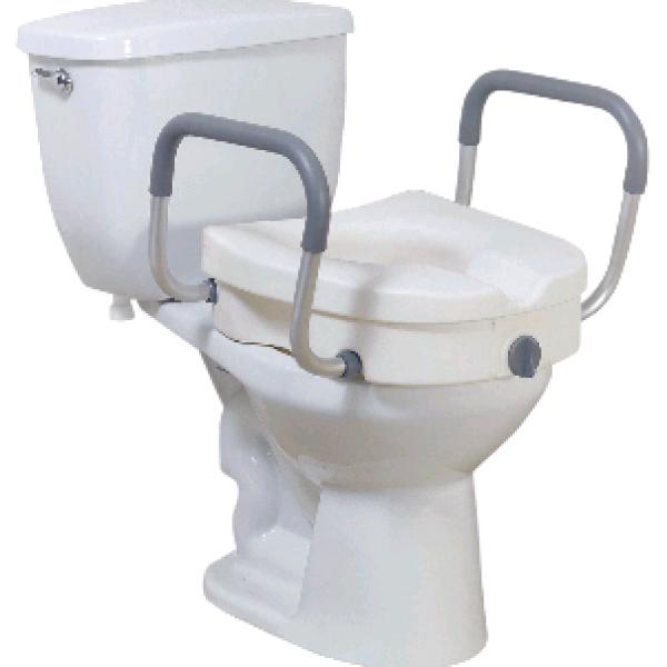 Enjoyable Toilet Seat Riser With Offset Handles Uwap Interior Chair Design Uwaporg