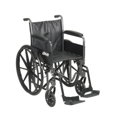 Wheelchair Full Arm with Footrest