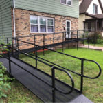 Modular wheelchair ramp types