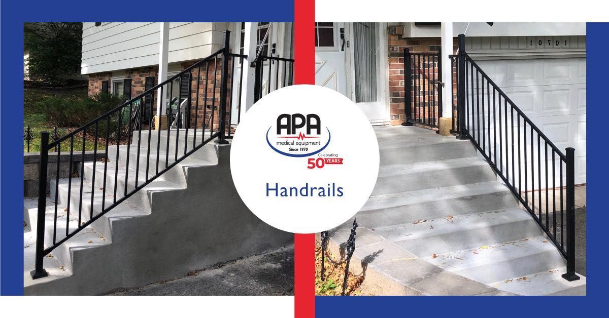 House handrail