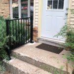 House handrail for steps