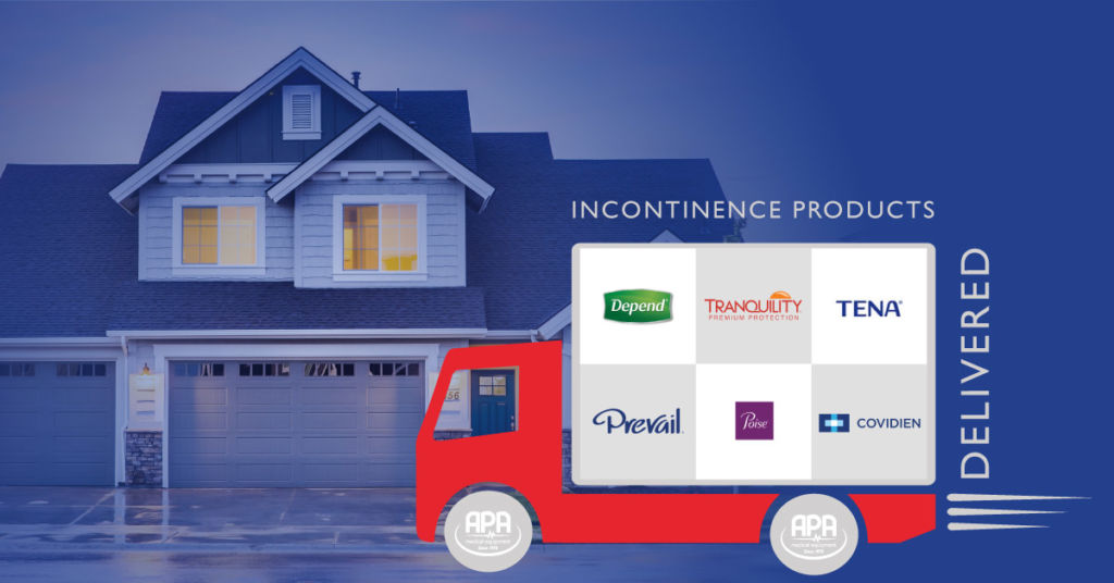 Home delivery incontinence service
